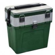 Ящик двусекционный зимний зеленый (380*360*240)