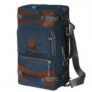 Сумка-рюкзак С-27С с кожаными накладками