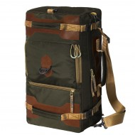 Сумка-рюкзак С-27ТК с кожаными накладками