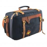 Сумка-рюкзак С-28ТС с кожаными накладками