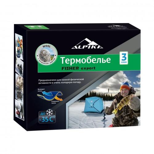 Термобелье Alpika Fisher Expert (до -35С, цвет: темно-серый)