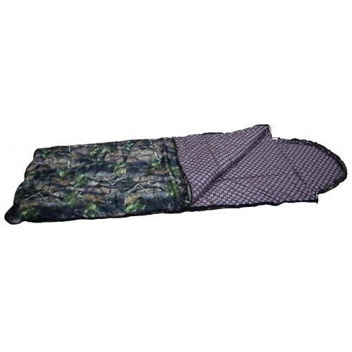 """Спальный мешок-одеяло """"Аляска"""" ( 0С, тк.таффета цв. лес)"""