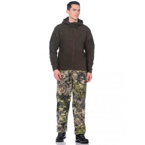 Куртка демисезонная Камелот цвет Хаки ткань Softshell