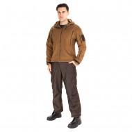 Куртка демисезонная Камелот цвет Коричневый ткань Polarfleece