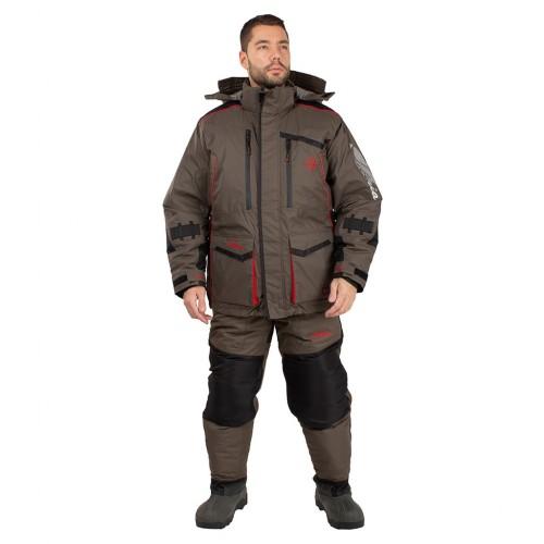 Костюм зимний Поплавок Siberia Floating цвет Хаки/Черный ткань Breathable до -45°С