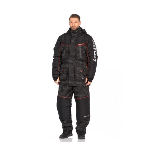 Костюм зимний Siberia Reflect цвет Черный ткань Reflex Membrane