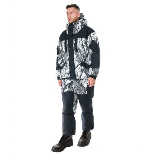 """Костюм """"Ангара"""", тк.Алова Мембраная со снегозащитными гетрами -35°С"""
