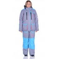 Костюм зимний Женский Siberia Lady цвет Серый/Голубой ткань Breathable -35°С