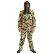 Антимоскитный костюм охотника (желтая змея) К-401
