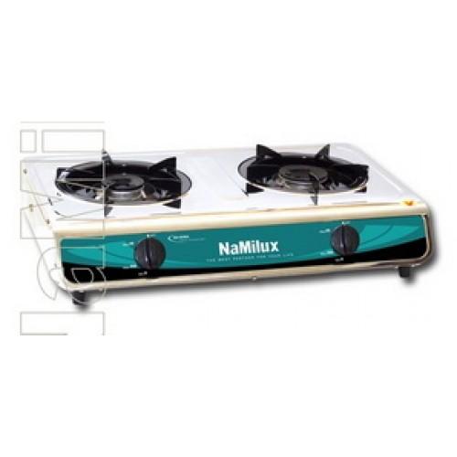 Стационарная газовая печь 2-х конфорочная NaMilux NA-606 ASM