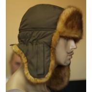 Шапка ушанка зимняя «Куница»