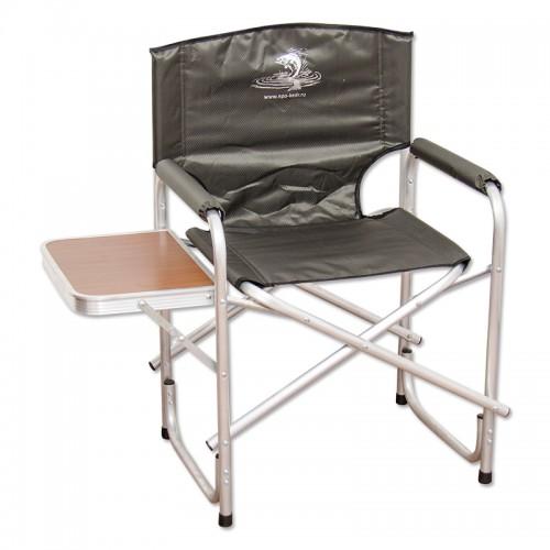 AK-05 Кресло складное со столиком, алюминий