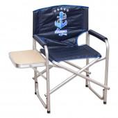 AKАS-02 Кресло складное Адмирал со столиком, алюминий
