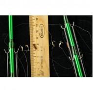 Оснащённые махалки 61 см на Корюшку-малоротку (Юг Сахалина) Длина в разложенном виде 61 см Толщина кончика 1 мм