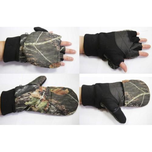 Варежки-перчатки с клапаном
