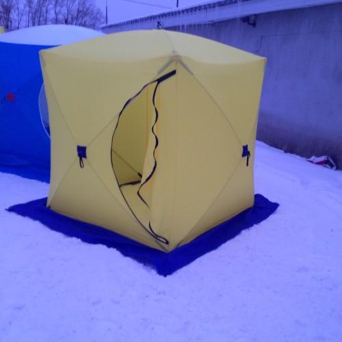 Палатка рыболовная СТЭК КУБ-1