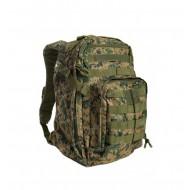 Рюкзак Assault с внешними карманами, digital woodland