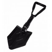 Folding Shovel with Pick, black
