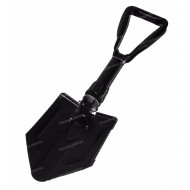 Folding Shovel with Pick, black