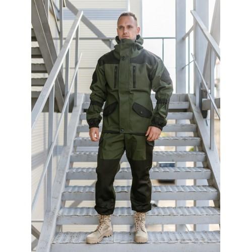 Костюм Горка 5, усиленные вставки на штанах, зеленый