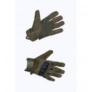 Перчатки тактические со вставкой, олива