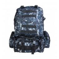 Рюкзак тактический с подсумками, синяя цифра
