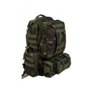 Рюкзак тактический с подсумками, woodland