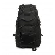 Рюкзак походный с козырьком , black