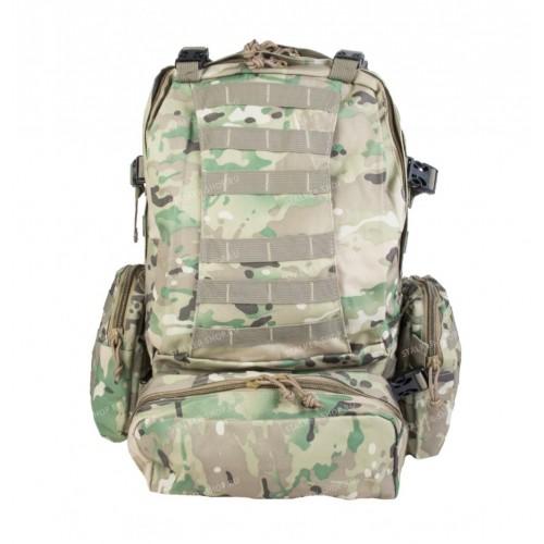 Рюкзак Assault II BS123 с навесными подсумками, multicam