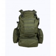 Рюкзак Assault II BS123 с навесными подсумками, olive