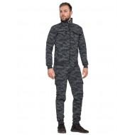 Мужской костюм АК-47 Хлопок (Лето) для охоты и рыбалки (серая сота)
