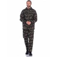 "Костюм летний ""Сармат"" твил черный тигр"