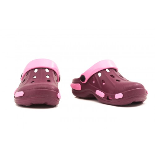 Сабо детские, материал ЭВА, вишнево-розовый