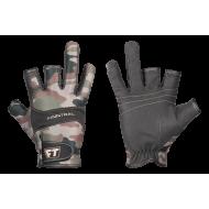 Перчатки для рыбалки и охоты Finntrail NEOSENSOR CAMOGREEN